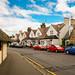 Small photo of Robbie Burn's street, Alloway