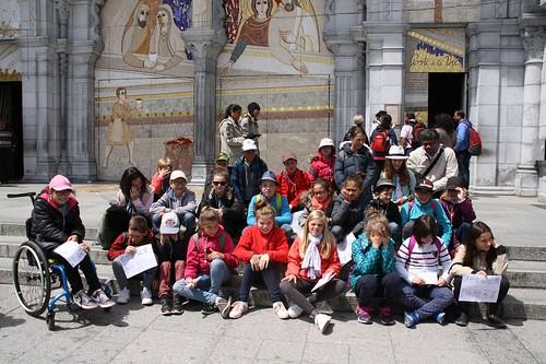 2017 05 20 Pèlerinage des enfants du KT à Lourdes (137)