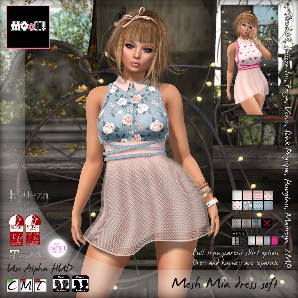 Mia dress soft - SecondLifeHub.com
