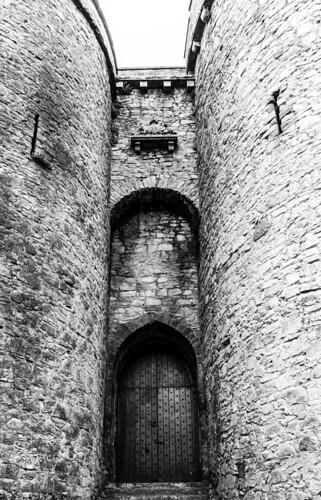 marcial bernabeu bernabéu irlanda ireland limerick castillo castle king john rey juan wall muro torre tower door puerta entrance entrada old