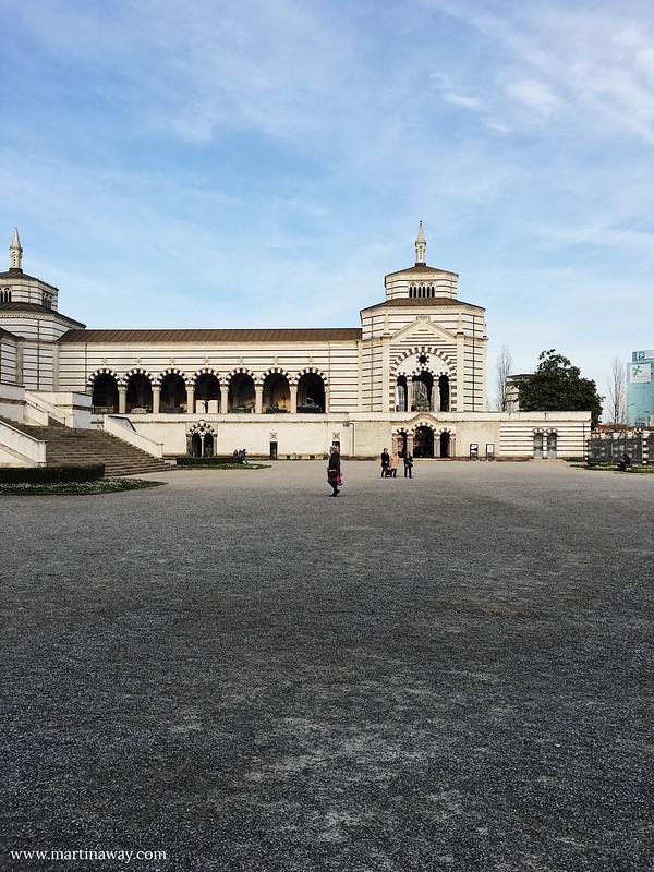 Ingresso del Cimitero Monumentale di Milano