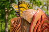 Dayle Lewis Butterfly Carving