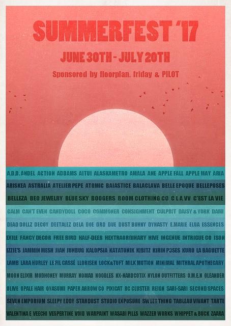 Summerfest '17 Line up!