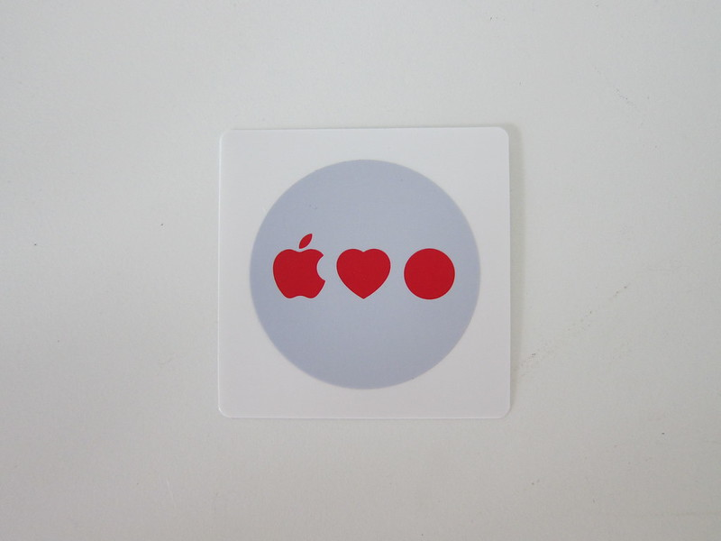 Apple Orchard Road Opening Swag - Sticker