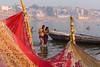 RITUAL BATH. Varanasi