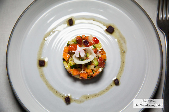Vegetable tartar