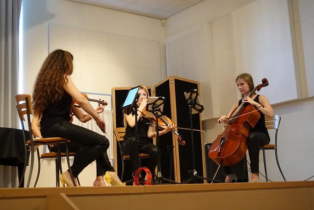 Concert pop-classique en quatuor à cordes