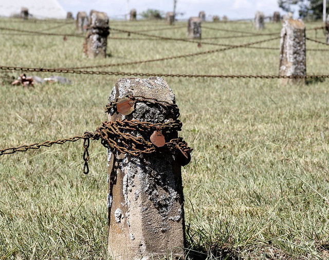 Cemetery Of Rusty Chains
