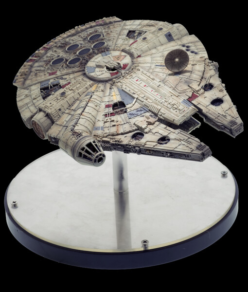 星際大戰中最經典的「垃圾」!!EFX Collectibles【千年鷹號】Millennium Falcon 1/100 比例道具複製品 Scaled Replica