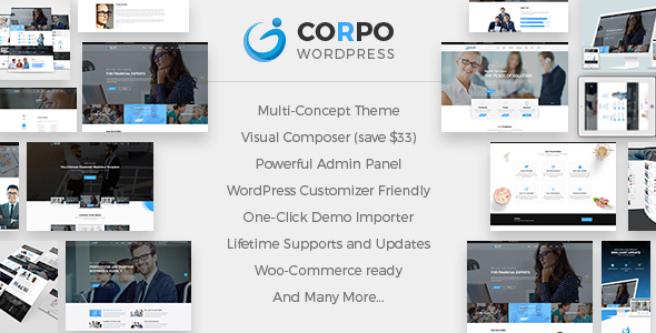 Corpo v1.2.0 - Modern Business and Corporate Theme
