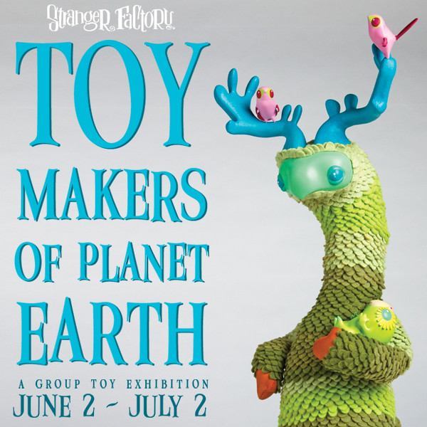 Toy Makers of Earth at Stranger Factory
