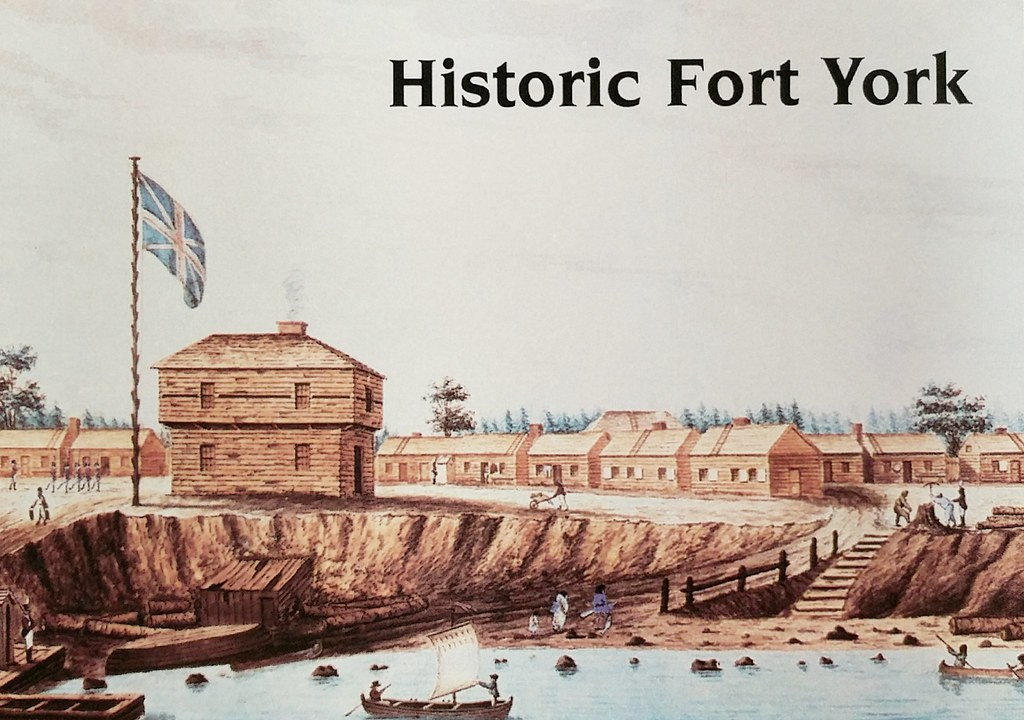 Retro - Toronto - Historic Fort York - York Barracks May 1804