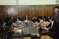 Prefeito Kalil recebe delegação Russa