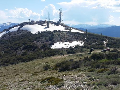 peavinepeak reno nv mountain view jeeps communications towers peavine