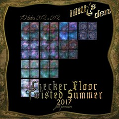 LD Checker Floor Textures fullperm Twisted Summer 2017