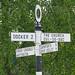Arkholme Signpost