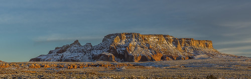 arizona sunset mesa redrocks page unitedstates us