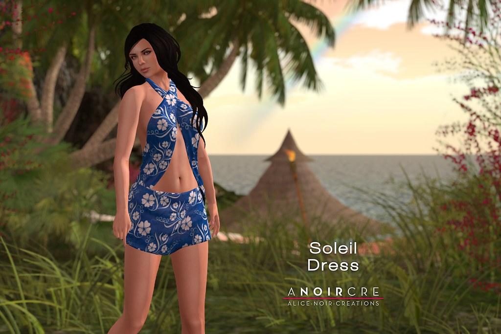 ANOIRCRE - Soleil Dress - SecondLifeHub.com