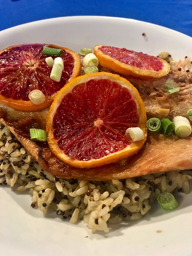 Blood Orange Salmon