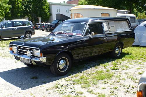 Opel Rekord Leichenwagen