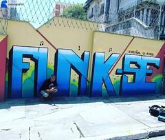 #Repost from @nervograffiti with #streetartgenius ... Esse é meu mano KURYÑA G-FUNK , trampo feito para o videoclipe - EXÉRCITO DE UM HOMEM SÓ, com direito a enquadro!kkkk,SÓ agradeço irmão @kgfunk68 em ter feito parte dessa história