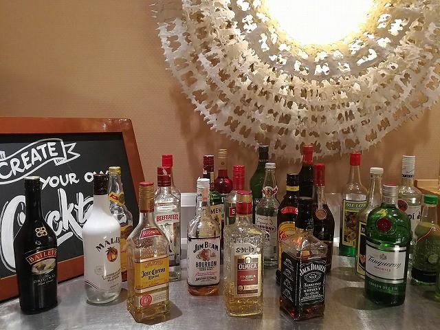 <p>alcohol各種</p>