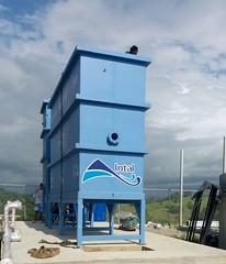 75% de avance en planta de agua potable de la parroquia Eloy Alfaro
