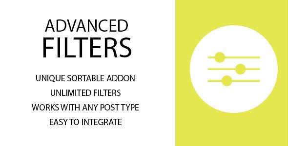 Advanced Filters Sortable WordPress Plugin free download