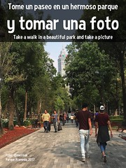 Tome un paseo en un hermoso parque y tomar una foto Take a walk in a beautiful park and take a picture