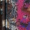 Mosaic In Peeling Paint