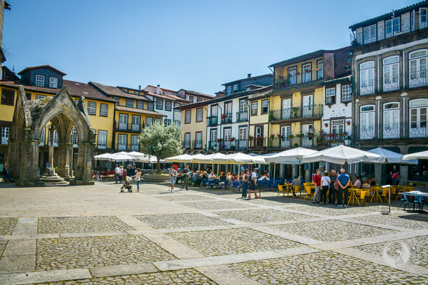 Main Square Guimarães Portugal UNESCO World Heritage Site