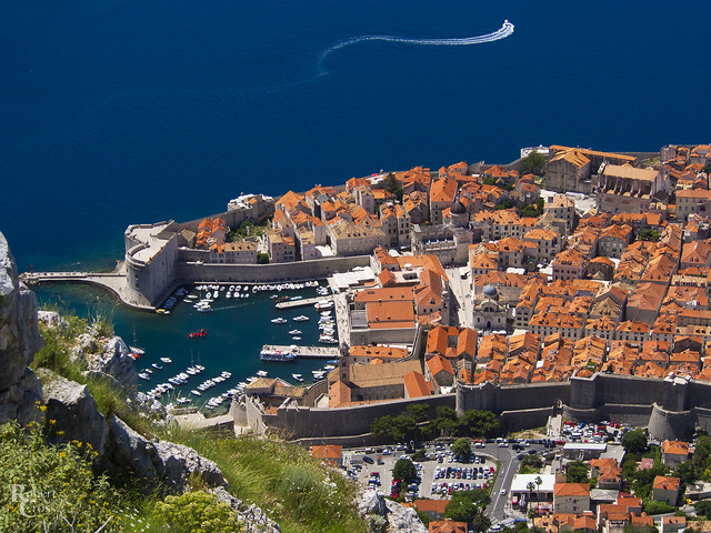 Above Dubrovnik