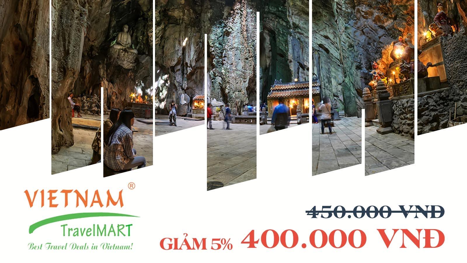 Vietnam TravelMART JSC   Giảm 5% Tour Ngũ Hành Sơn - Phố cổ Hội An