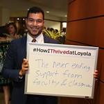 #HowIThrivedatLoyola