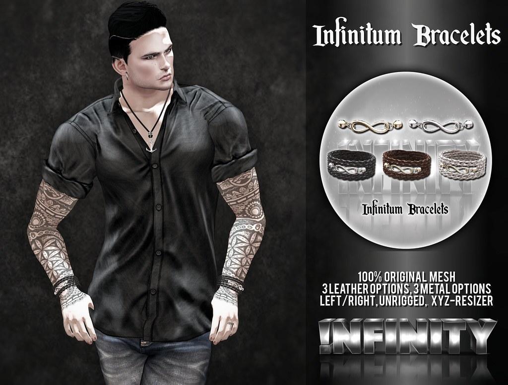 !NFINITY Infinitum Bracelet @ MOM - SecondLifeHub.com