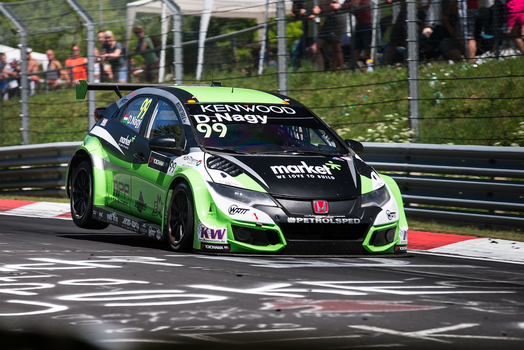 99 NAGY Daniel (hun), Honda Civic team Zengo Motorsport, action during the 2017 ETCC European Touring Car Championship race at Nurburgring, Germany from May 26 to 28 - Photo Antonin Vincent / DPPI
