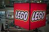 Hanging Lego logo
