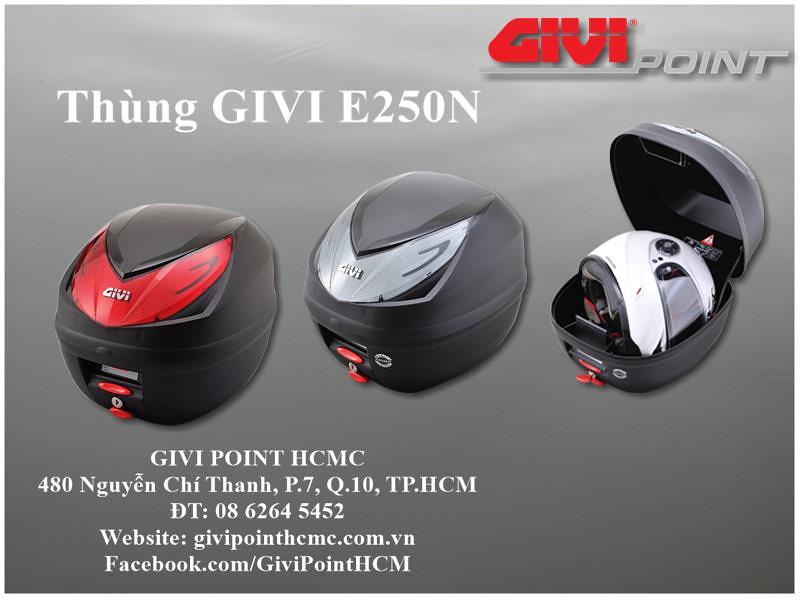 Thung xe Givi - 2