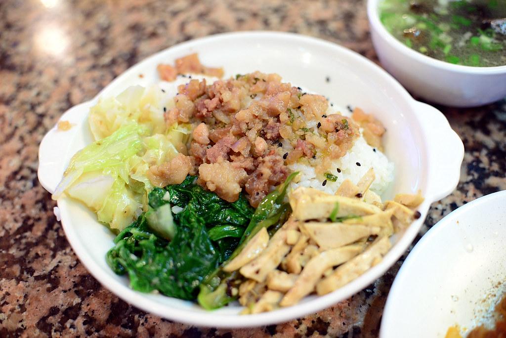 東一排骨-菜飯 2013-01-29