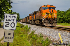 BNSF 5645 | GE AC44CW | NS Memphis District