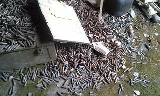 AK-47 shells