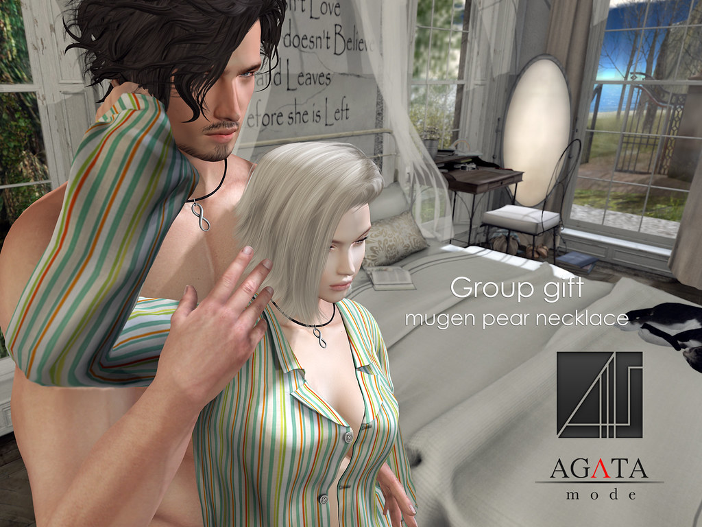 Mugen necklace Group Gift - SecondLifeHub.com
