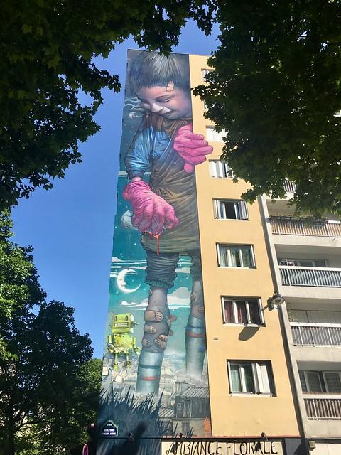 Walking around XIIIème arrondissement