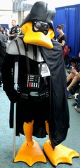 2016-Fan Dressed Up as Star Wars Darth Duck at SDCC-02