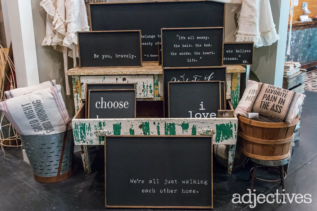 Adjectives Featured Finds in Winter Garden by Georgia Maes Vintage and Handmade by Repurpose Market