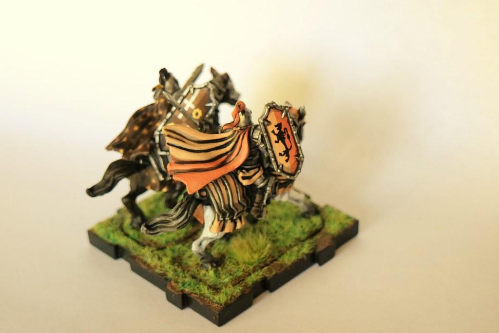 Runewars Miniatures Daqan Knights Back 3