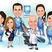 Dentists Caricature