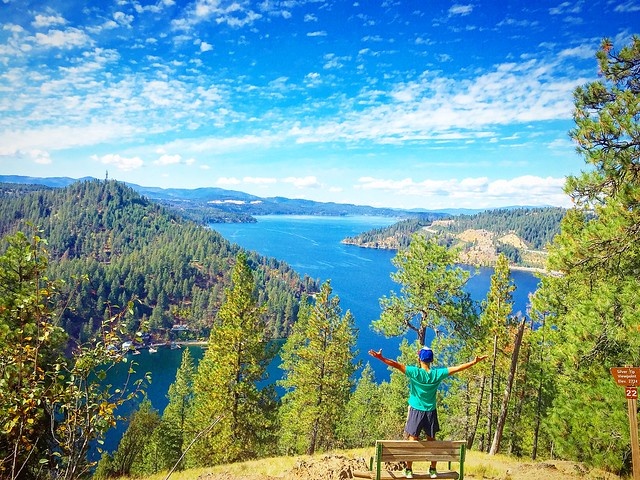 Lake Coeur d' Alene: Mineral Ridge Scenic Area and National Recreation Trail