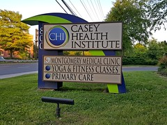 Sign for Casey Health Institute