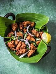 Restaurant style Chicken 65